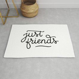 Just friends Rug