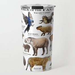 Animals of the Pantanal Travel Mug