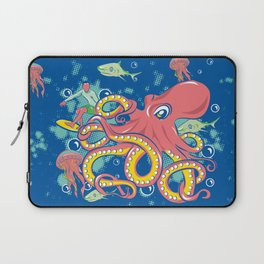 Octopus and Friends Laptop Sleeve