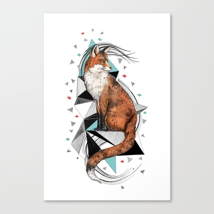 Foa the Fox Canvas Print
