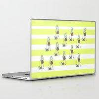 yorkie Laptop & iPad Skins featuring Yorkie by miba