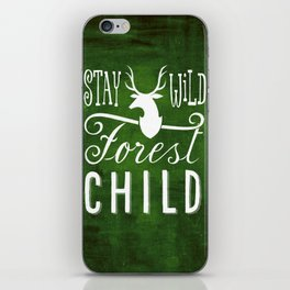 forest child iPhone Skin