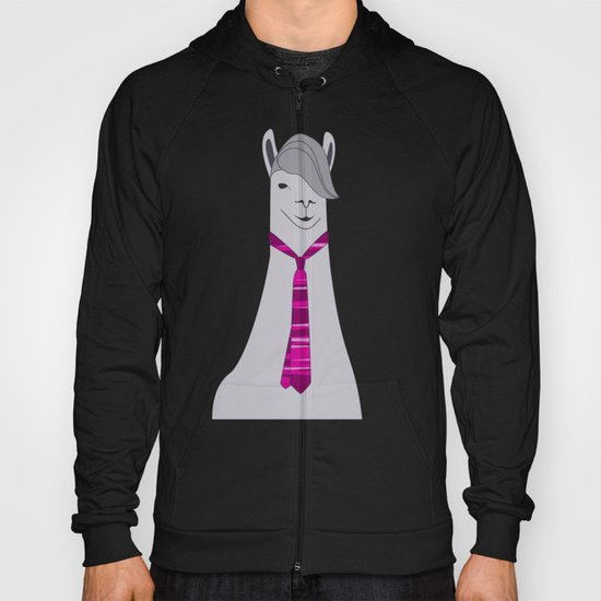 Lama Hipster Design Hoody