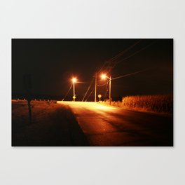 The End. Canvas Print