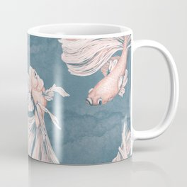 Blushing Bettas Coffee Mug