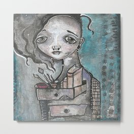 PanArt Self Portrait Metal Print
