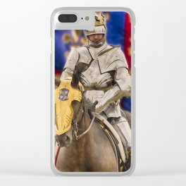 Richard the Third 2 Clear iPhone Case