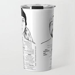 Chronic Jay & Silent Bob Ink'd Series Travel Mug