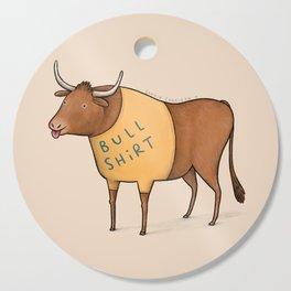 Bull Shirt Cutting Board