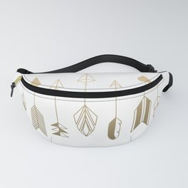 Be Brave Little Arrow (gold) Fanny Pack
