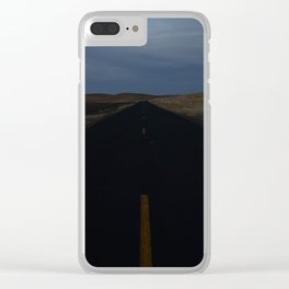 The Gods Are Wont To Travel II Clear iPhone Case
