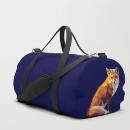 Geometric fox Duffle Bag