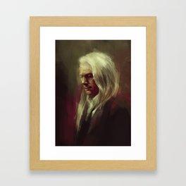 Lucius Framed Art Print