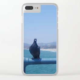 Santa Monica II Clear iPhone Case