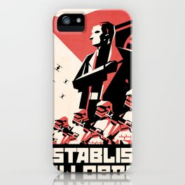 First Order (Hux) iPhone Case