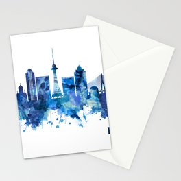 Harbin China Skyline Blue Stationery Cards