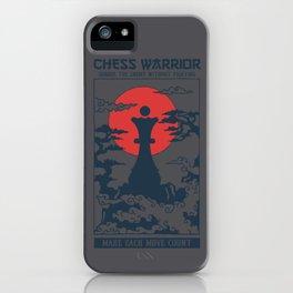 Temple Chess Warrior Queen iPhone Case