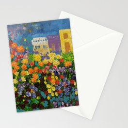 Flower Hedge Stationery Cards