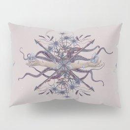 Ghosts of Scandinavia. Norwegian bouquet Pillow Sham