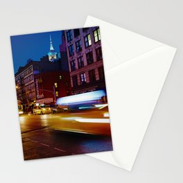 Taxi's Whizzing By Stationery Cards