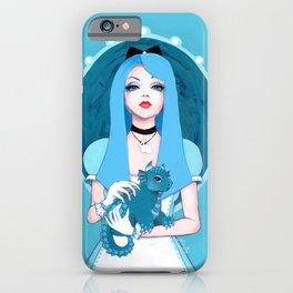 Alice Wore Blue iPhone Case
