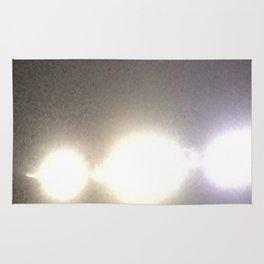 Abstracte Light Art in the Dark Version 31 Rug