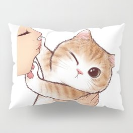 want to kiss Pillow Sham
