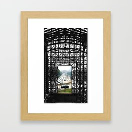Unususal Traffic Framed Art Print