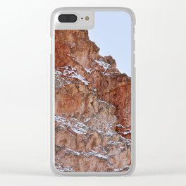 Red Rocks Clear iPhone Case