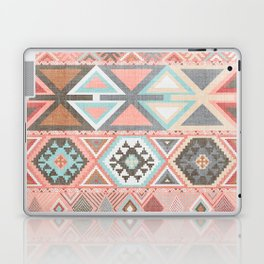 Aztec Artisan Tribal in Pink Laptop & iPad Skin