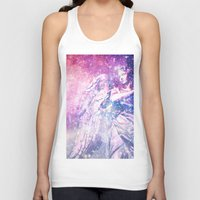 celestial Tank Tops featuring Celestial Angel by 2sweet4words Designs