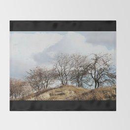 Mill Street Exit | 401 Series | Landscape | Vintage | Nadia Bonello Throw Blanket