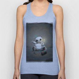 March of Robots: Day 2 Unisex Tank Top