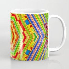 Stained Glass Kaleidoscope Coffee Mug