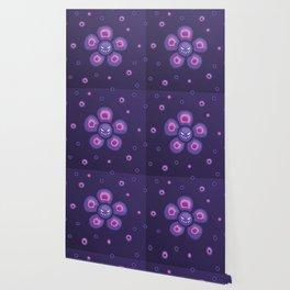Purple Evil Flower Wallpaper