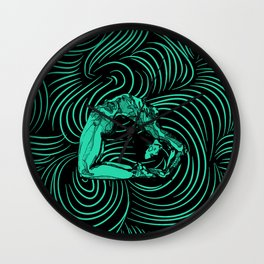 Contortion Wall Clock