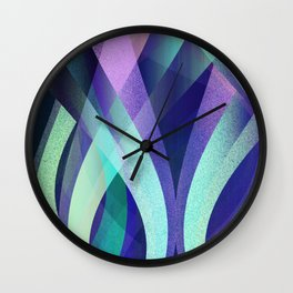Abstract background G142 Wall Clock