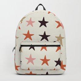 Star Pattern Color Backpack