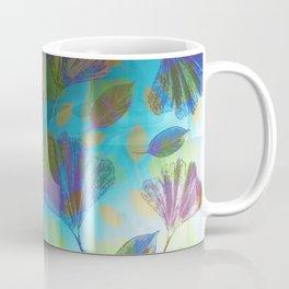 Ginkgo Leaves Under Water Coffee Mug