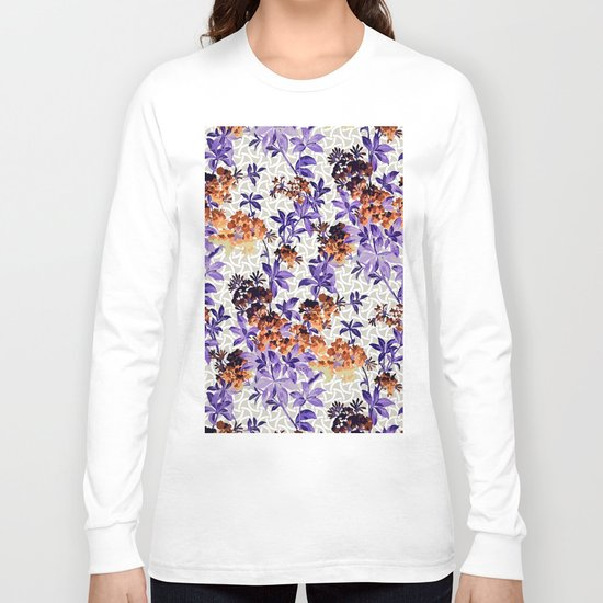 Neon Exotic Garden Long Sleeve T-shirt