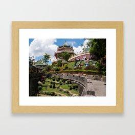 Taoist Temple, Cebu, Philippines Framed Art Print