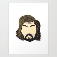 pirlo Art Prints featuring Pirlo by wearwolves