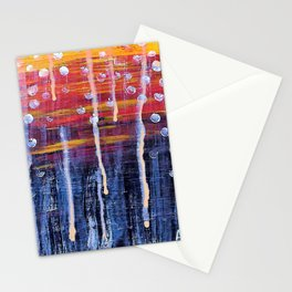 When the Sky Melted Stationery Cards