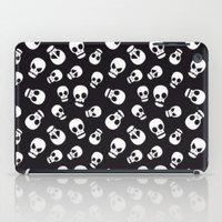 skulls iPad Cases featuring Skulls by Sara Showalter