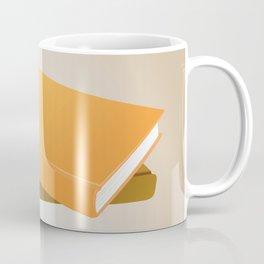 Books with background Coffee Mug