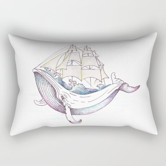 whale Rectangular Pillow