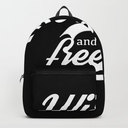 Wild and free,retro style Backpack