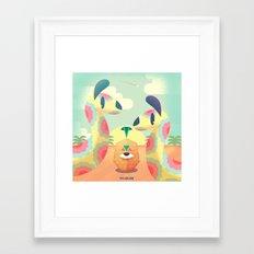 Me & You Framed Art Print