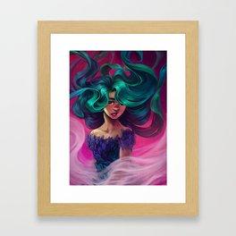 Underwater Motion Framed Art Print