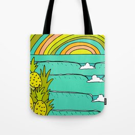 pineapple fields and endless summer vibes Tote Bag